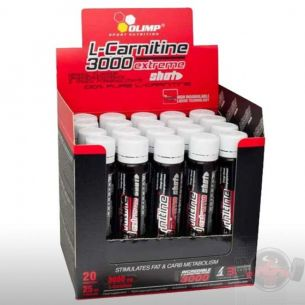OLIMP L-Carnitine 3000 Extreme Shot 20 fiale da 25 ml