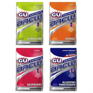 GU - Brew Electrolyte - Carboidrati e sali minerali - 16 bustine da 34 g