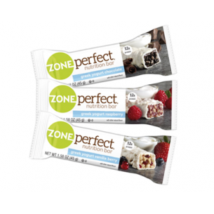 Zone Perfect  12 barrette a zona da 45 gr  (Gusto yogurt greco e vaniglia)