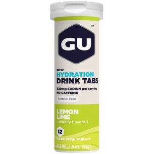 GU - Hydration Drink Tablet - 12 tubetti da 12 cpr
