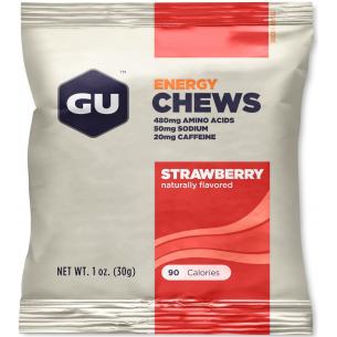GU - Energy Chews - 24 pacchetti da 4 caramelle