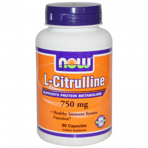NOW FOODS - L- Citrulline 750mg - 90 cpr