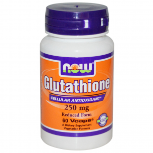 NOW FOODS - Glutathione reduced form 250mg - 60 caps
