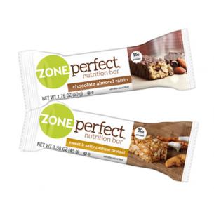 Zone Perfect - Barretta a Zona Sweet & Salty - 12 Barrette da 45gr (Gusto Anacardi Pretzel)