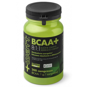 +WATT - BCAA+ 8:1:1 - 200 compresse