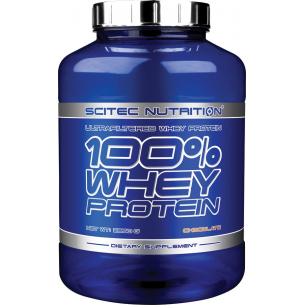 SCITEC - 100%  Whey Protein 2,350 kg