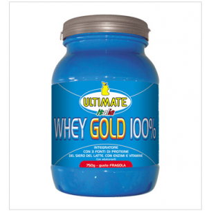 ULTIMATE ITALIA - Whey gold 100% - 1,5 kg