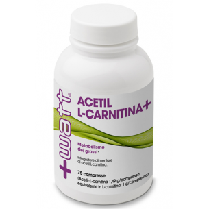 +WATT - Acetil L-Carnitina+  75 cpr