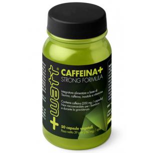 +WATT - Caffeina+ Strong Formula - 50 capsule
