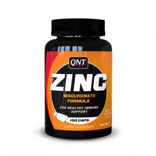 QNT  Zinc Bisclycinated 100 caps