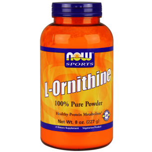 NOW FOODS  L-Ornithine Powder  227 gr