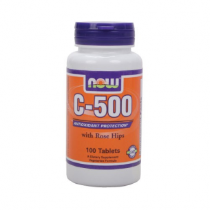 NOW FOODS  C-500 Rose Hips 100 Tabs