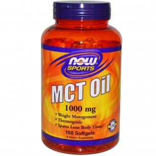 NOW FOODS  MCT Oil  150 softgel
