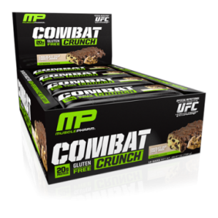 MUSCLE PHARM  Combat Crunch Bar 12 barrette da 63 g