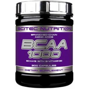 SCITEC Bcaa 1000 - 300 capsules