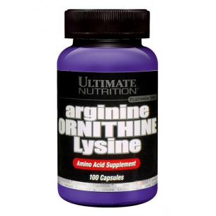 ULTIMATE NUTRITION  Arginine - Ornitine - Lysine 100 caps