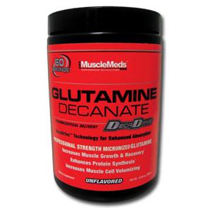 MUSCLEMEDS - Glutamine Decanate - 300 g