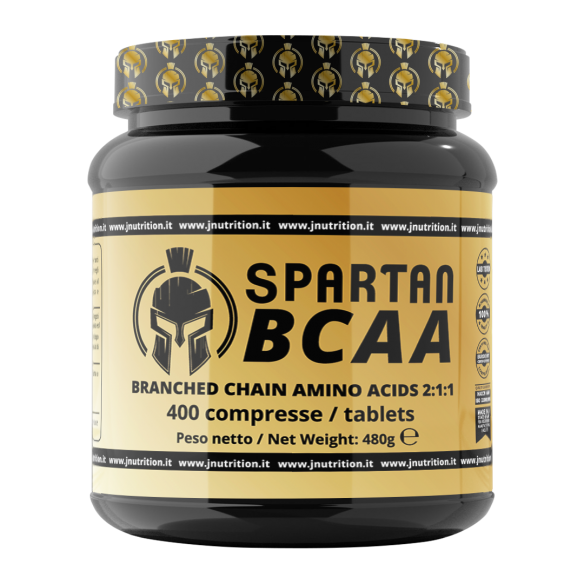 JNUTRITION Spartan Bcaa 400 compresse